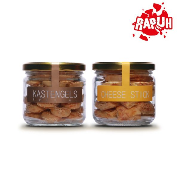 J&C Cookies Cheese Stick & Kaastengel Special / Paket Double Cheese Jar