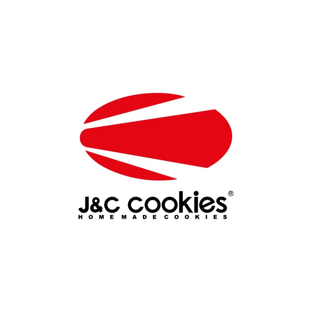 J&C Cookies Kaca Isi 2 Toples,Choco Flakes & Kiwi Cookies