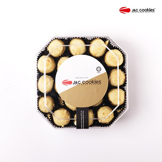 J&C Cookies Toples Reguler White Choco Cheese
