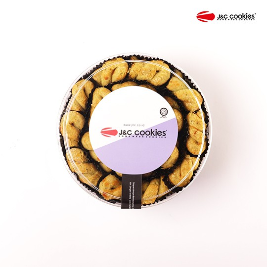 J&C Cookies Toples Reguler Kacang Polong Cookies
