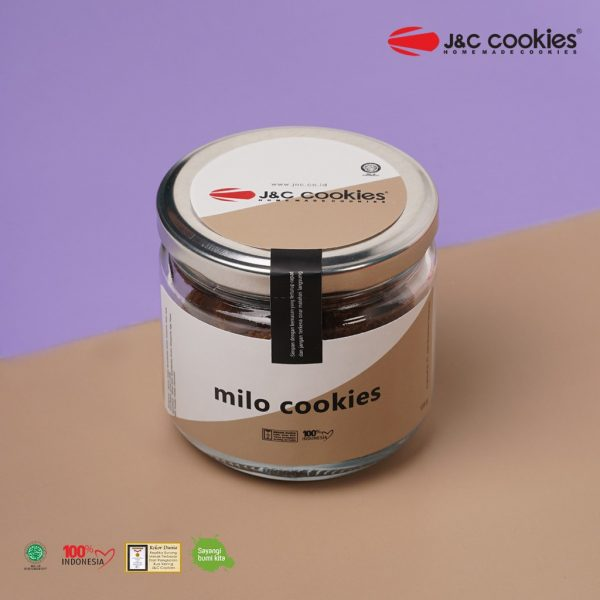 J&C Cookies Toples Kaca Millo Cookies