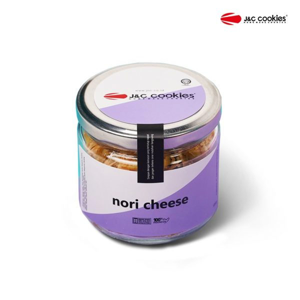 J&C Cookies Toples Kaca Nori Cheese